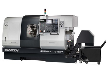 Heavy Duty CNC Lathe, Ganesh Machinery